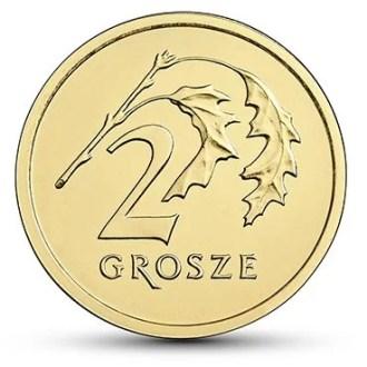 Polonia, 2 Grosze Serie 2017, Reverso
