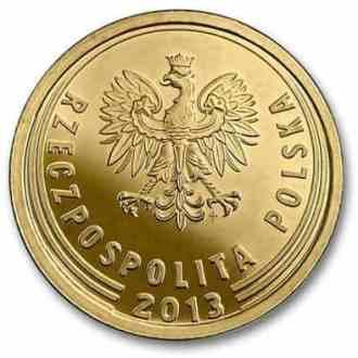Polonia, 5 Groszy Serie 2014, Anverso