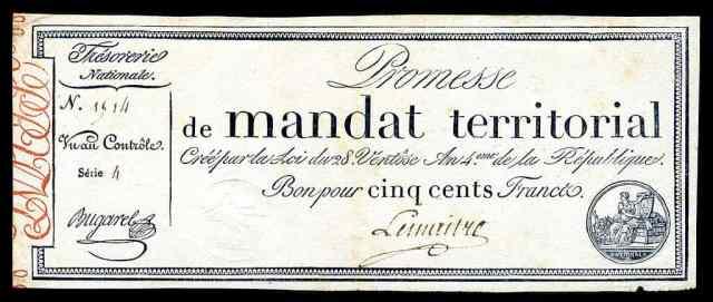 Mandat Territorial de 1796
