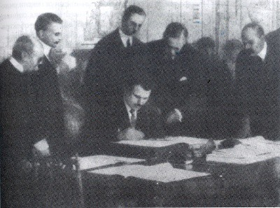 Firma del Tratado de Neuilly-sur-Seine
