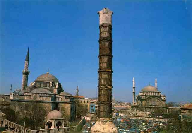 Columna de Constatine en Estambul