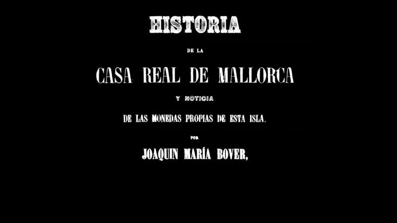 Portada Monedas de Mallorca