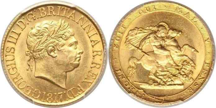Soberano de 1817