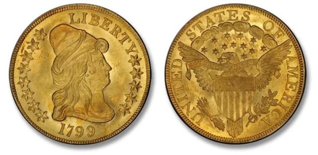 Eagle Americano Capped Bust 1799