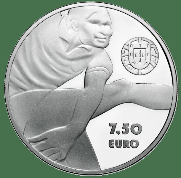 7,5€ Portugal 2016 Eusebio Anverso