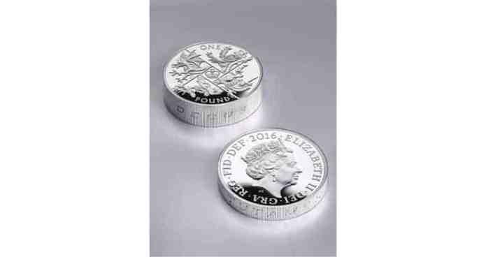 Piedfort vs moneda normal