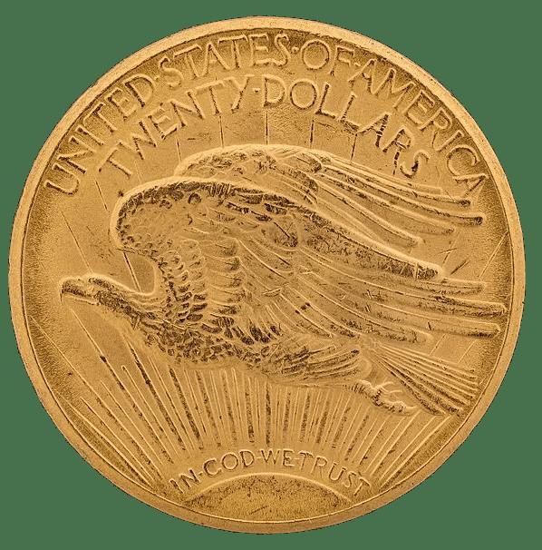 Double Eagle 1933 Reverso
