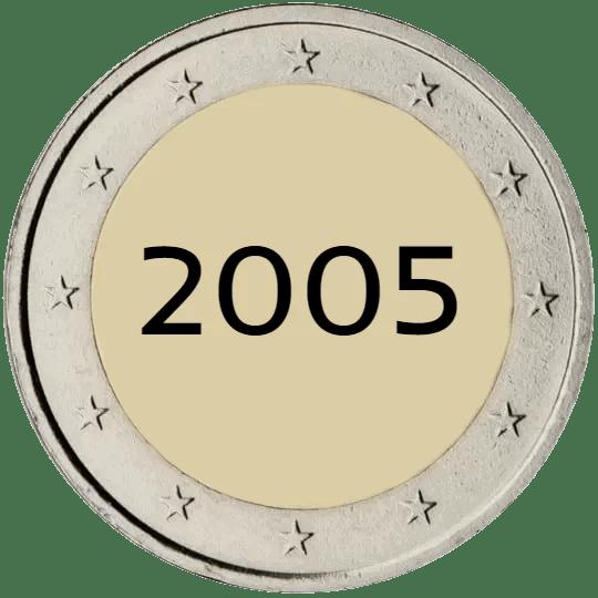 Lista de Monedas Conmemorativas de 2 Euros de 2005