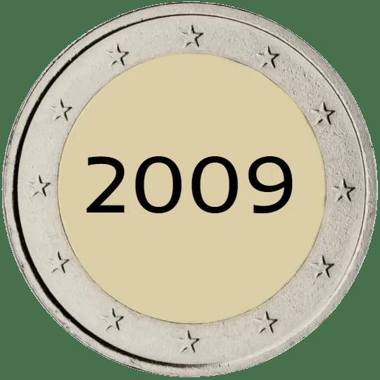 Lista de Monedas Conmemorativas de 2 Euros de 2009