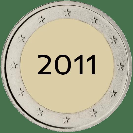 Lista de Monedas Conmemorativas de 2 Euros de 2011