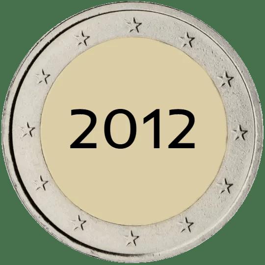 Lista de Monedas Conmemorativas de 2 Euros de 2012