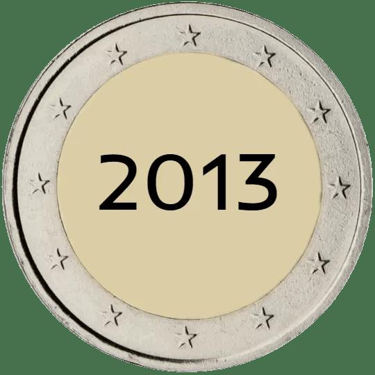 Lista de Monedas Conmemorativas de 2 Euros de 2013