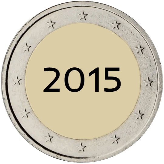 Lista de Monedas Conmemorativas de 2 Euros de 2015