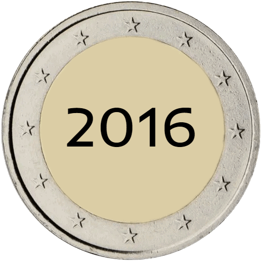 Lista de Monedas Conmemorativas de 2 Euros de 2016