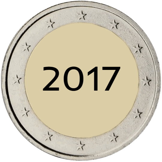 Lista de Monedas Conmemorativas de 2 Euros de 2017
