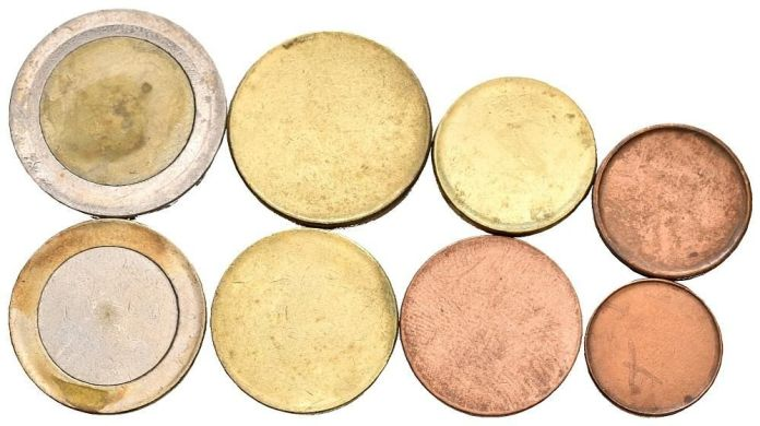 Cospel de monedas de euro
