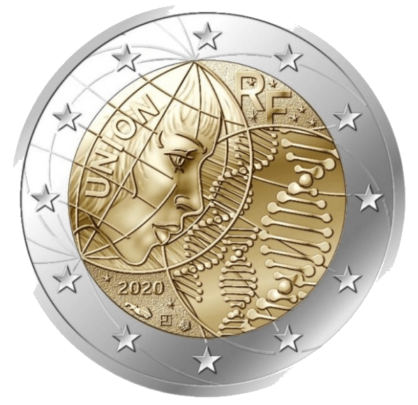 Moneda Conmemorativa de 2 Euros de Francia 2020 - Investigación Médica