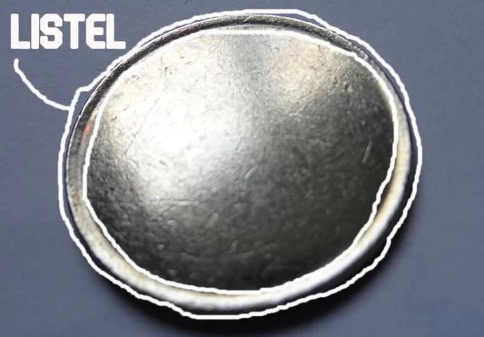 Listel de una moneda