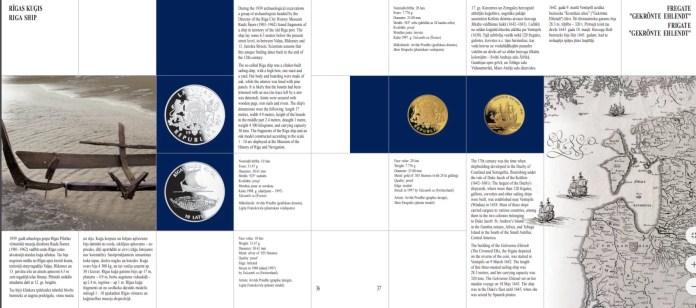 Catálogo de Monedas de Plata de Letonia