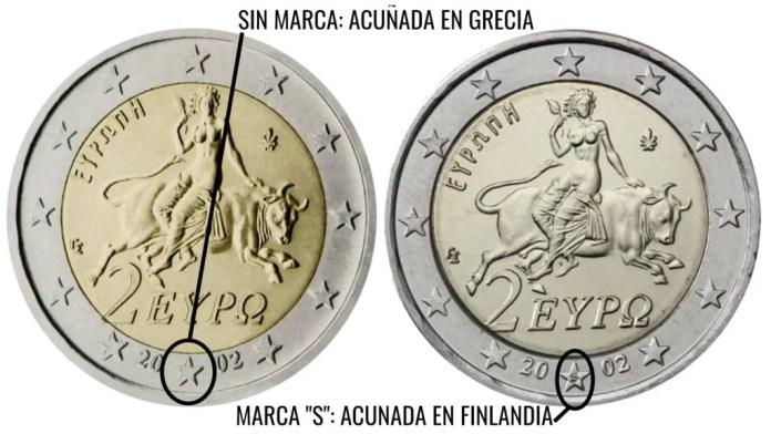 2 Euros Grecia 2002 S Valor y Precio Explicación