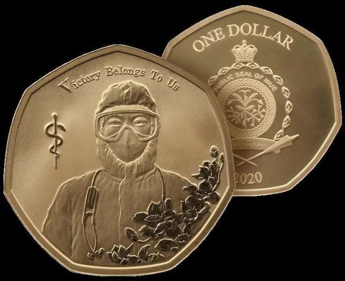 Niue 1 dolar 2020 covid