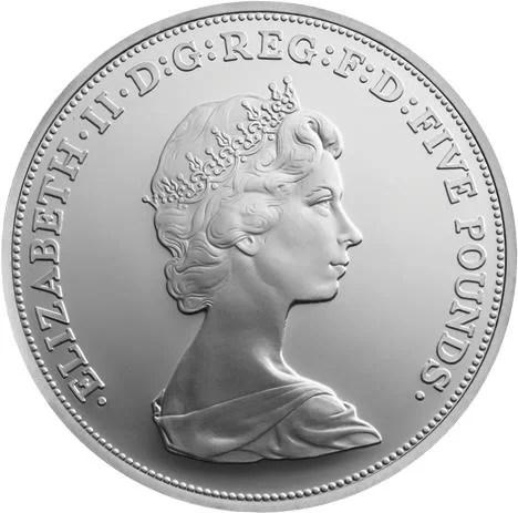 Retrato Isabel II Arnold Machin