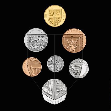 Monedas UK desde 2008