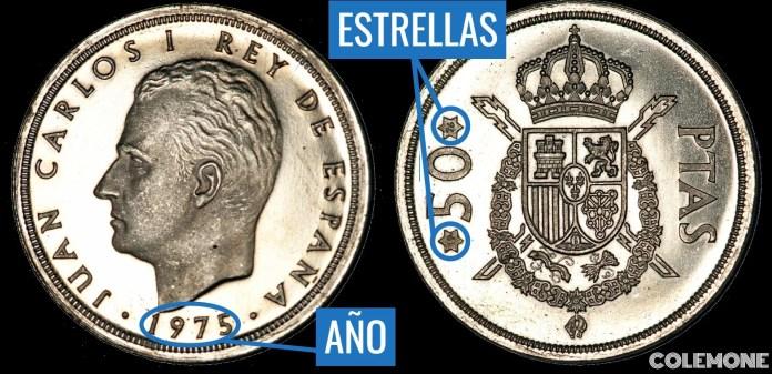 50 Pesetas 1975