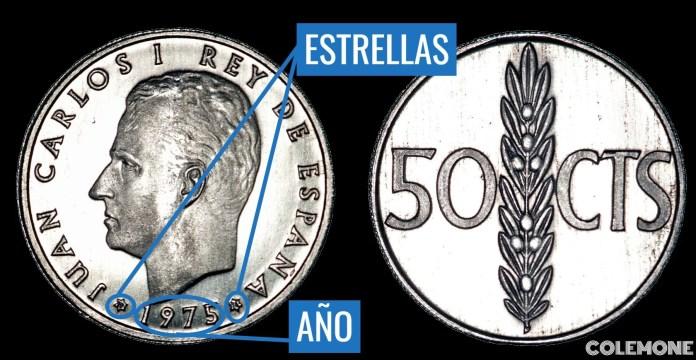 50 Centimos 1976