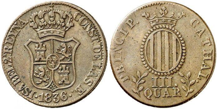 III Cuartos 1836 Cathal