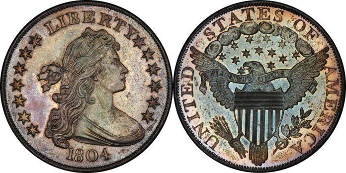 1804 Bust Dollar Dexter