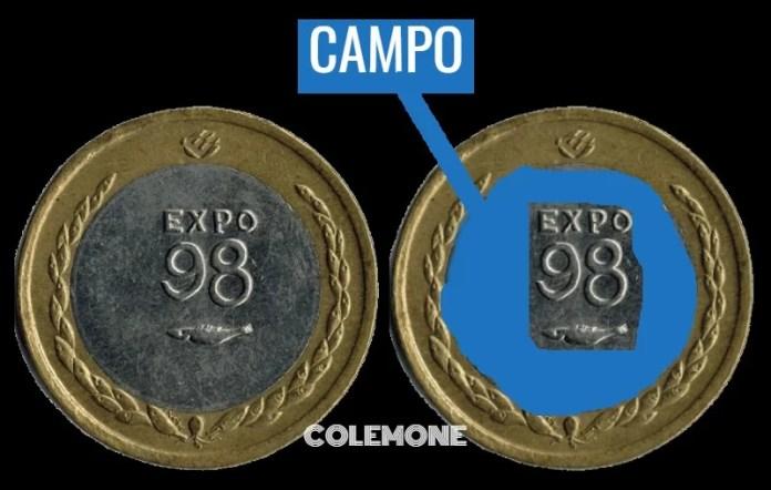 Campo 100 Escudos 1998