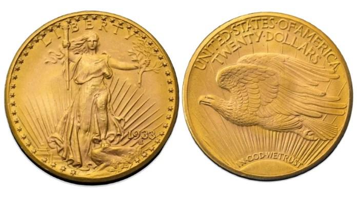 Double Eagle 1933