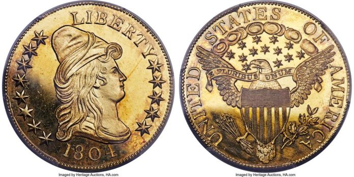 Eagle 1804 Proof