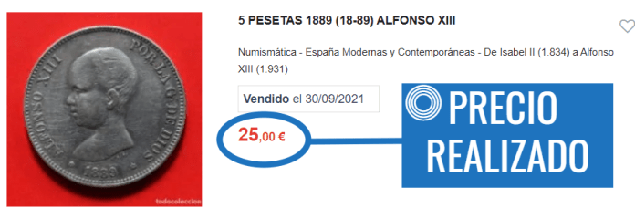 Valor Moneda Antigua TC Paso 5