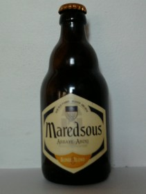 Maredsous blonde blond . Belgica . 6%