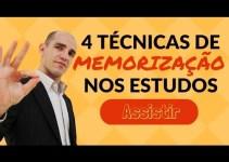 4 Técnicas de Memorização Para Concurso Público [A 4ª É Extremamente Poderosa]