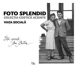 Coperta volumului I din seria Foto Splendid, denumit Viața socială