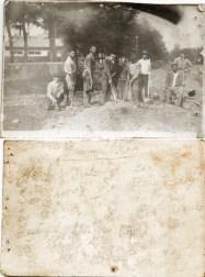 Grup Costică Acsinte din casele noastre Arhiva personală Bucur Ionel, Perieți