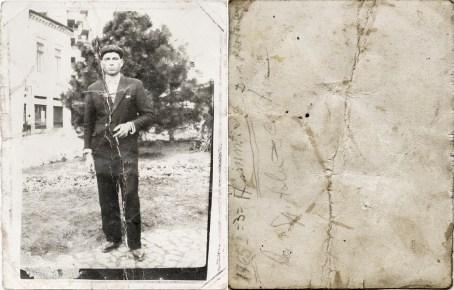 Bărbat Costică Acsinte din casele noastre Arhiva personală Bucur Ionel, Perieți