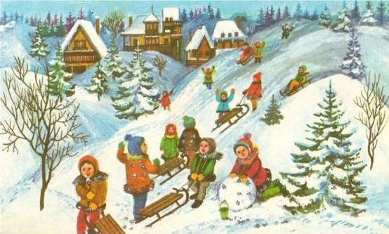 iarna pe ulita poezie george cosbuc