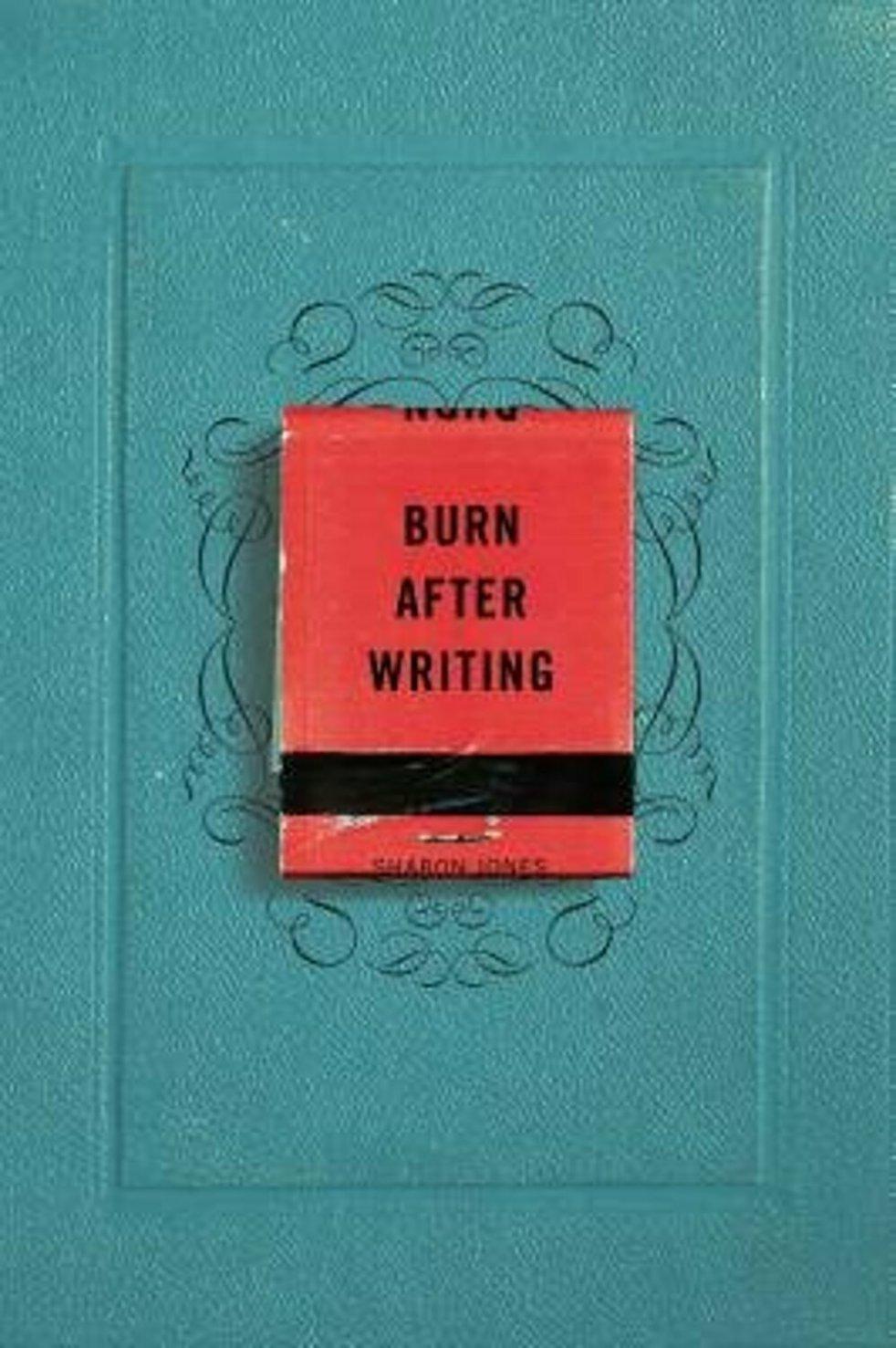 burn after writing book carte pdf