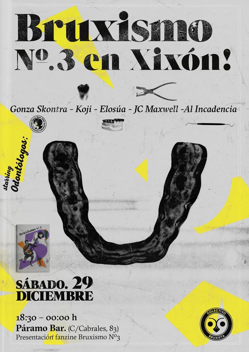 Presentación Fanzine-Bruxismo Nº3 en Xixón