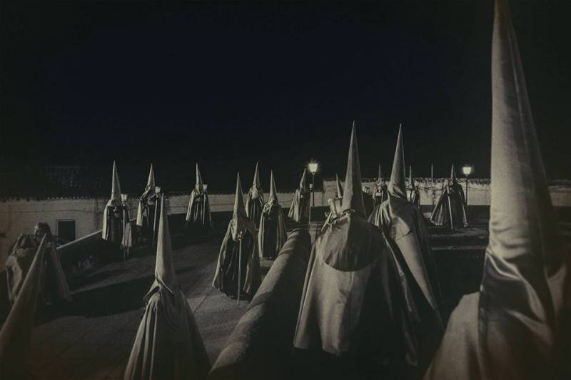 """""""NAZARENOS"""" de Francisco López Romero."""