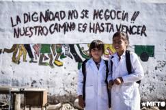 """""""La dignidad no se negocia, nuestro camino es hasta vencer!!"""""""