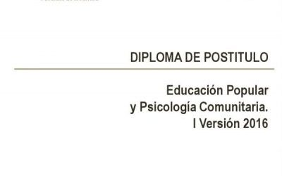 Diplomado Educación Popular y Psicología Comunitaria (Univ. de Valparaíso)