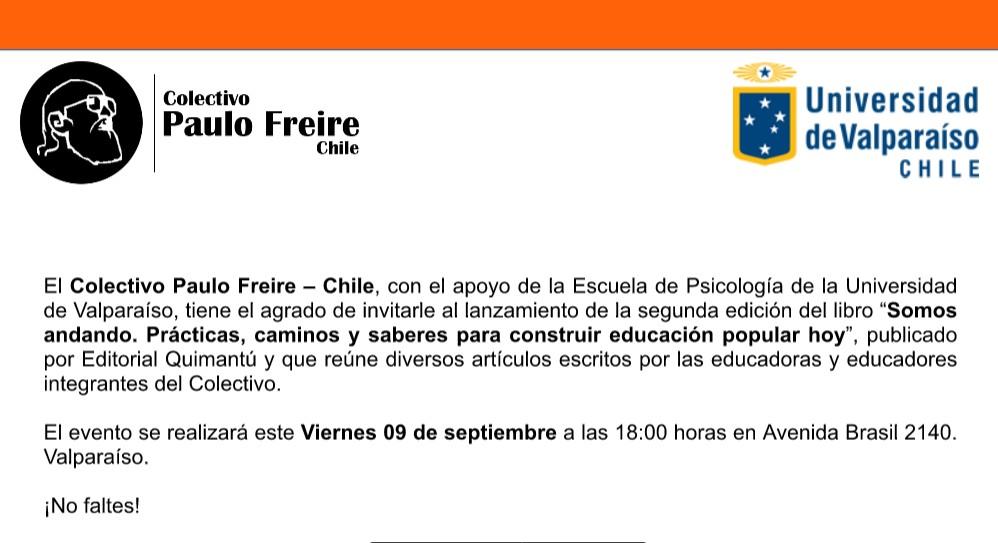 Invitacion lanzamiento libro CPF