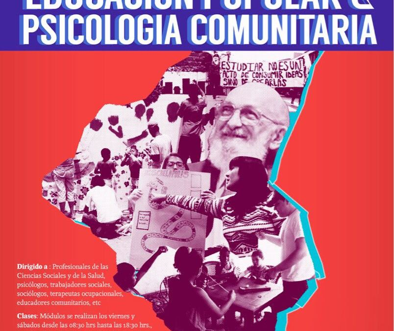 Diplomado de Postítulo en Educación Popular y Psicología Comunitaria II° versión