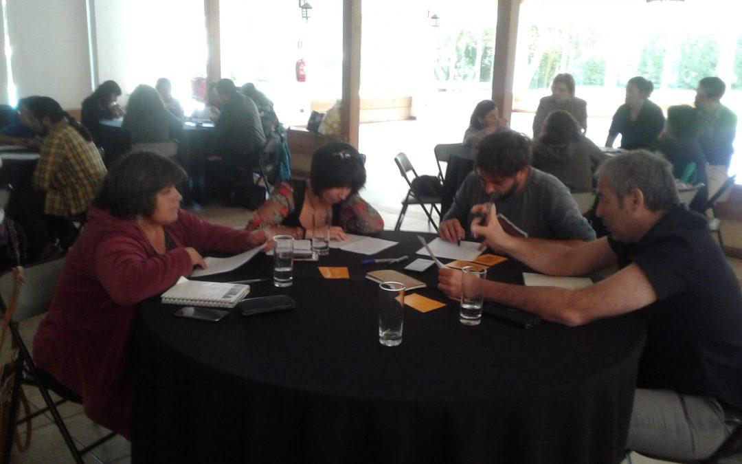 Jornada Mesa Vecinal de Participación Programa Pequeñas Localidades en Horcón