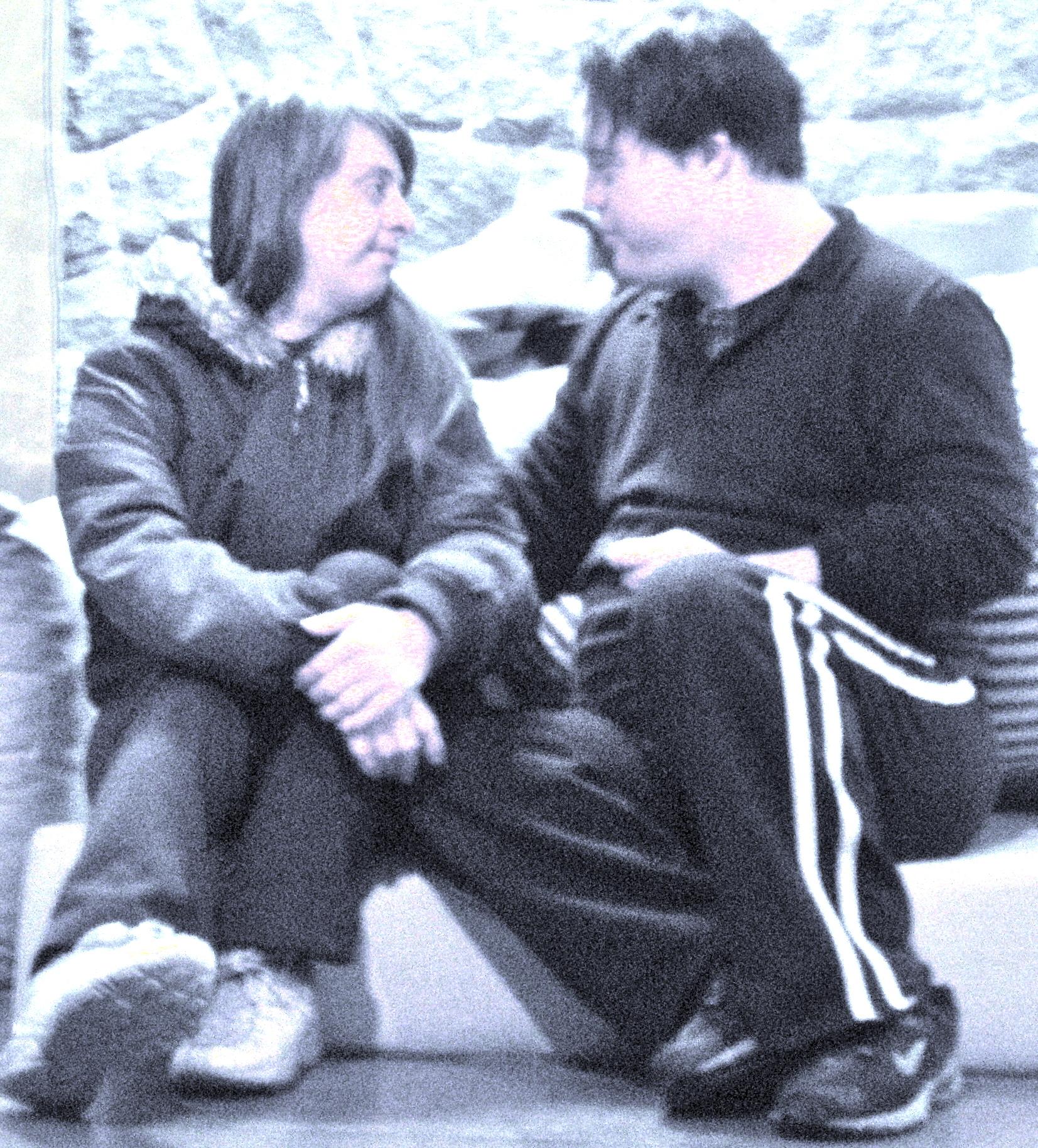 Ao final, o casal de protagonistas treina pra valer o olho no olho